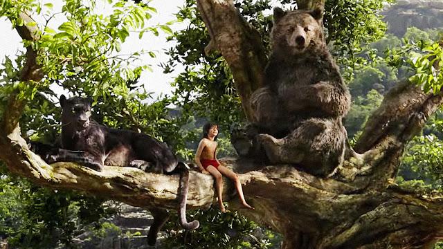 Mowgli , Bagheera & Baloo are back.