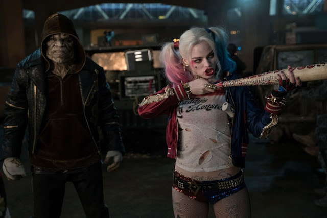 Margot Robbie kills it as Harley Quinn.