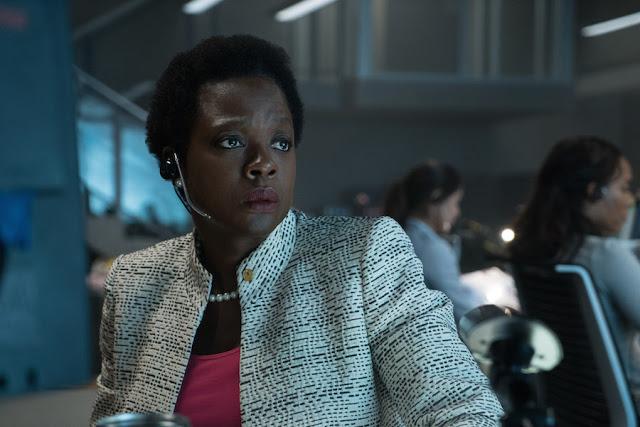 Viola Davis as Amanda Waller.