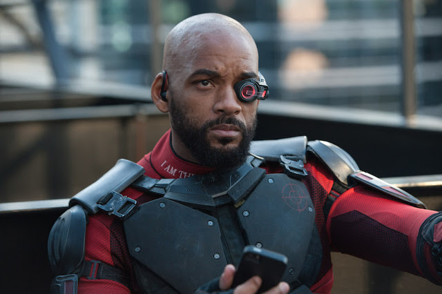 Will Smith brings his charm and charisma as Deadshot.