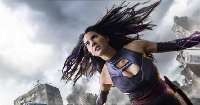 Unfortunately, Psylocke isn't given much to do.