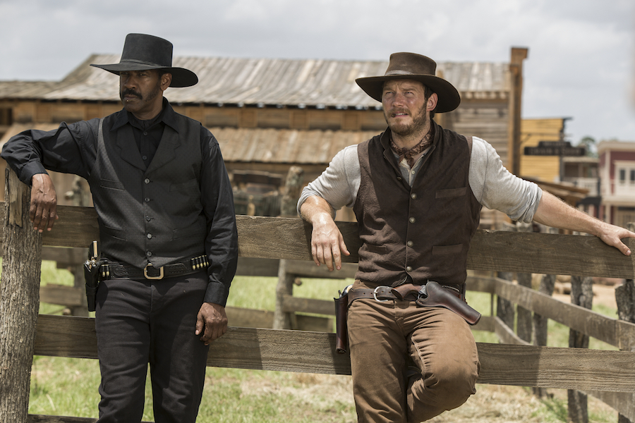 Chisolm (Denzel Washington) & John Faraday (Chris Pratt) are the best characters in the movie