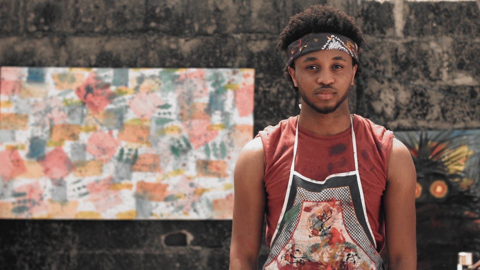 Uzee on his grind as a self-taught artist