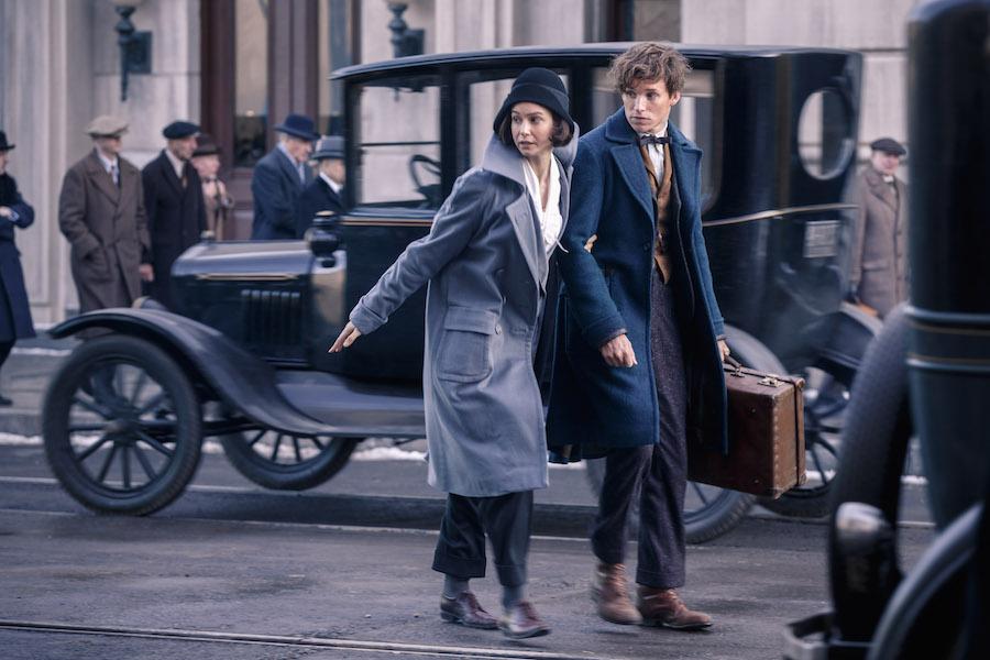 Newt Scamander ( Eddie Redmayne) & Poppertina 'Tina' Goldstein (Katherine Waterston)