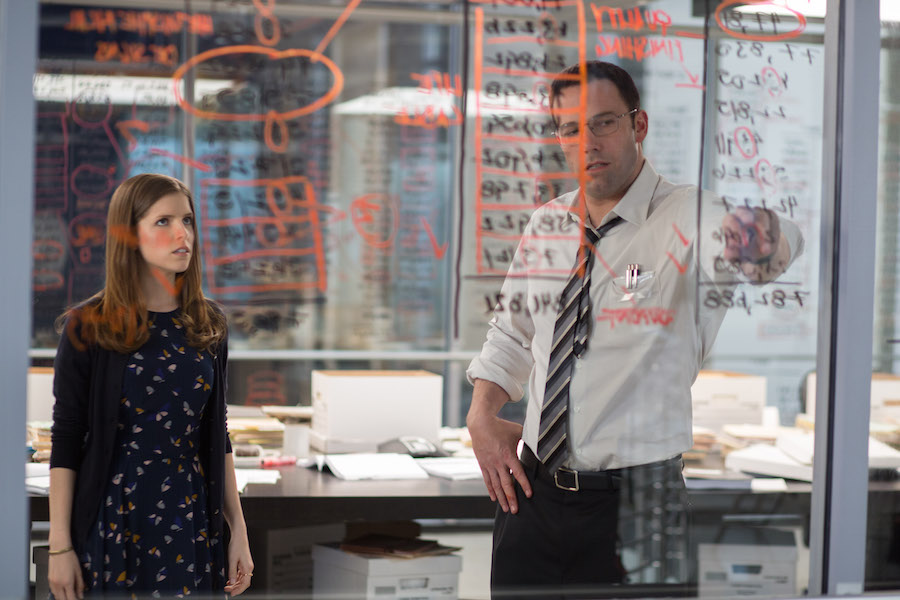 Dana Cummins ( Anna Kendrick) and Christian Wolff ( Ben Affleck) uncooking the books