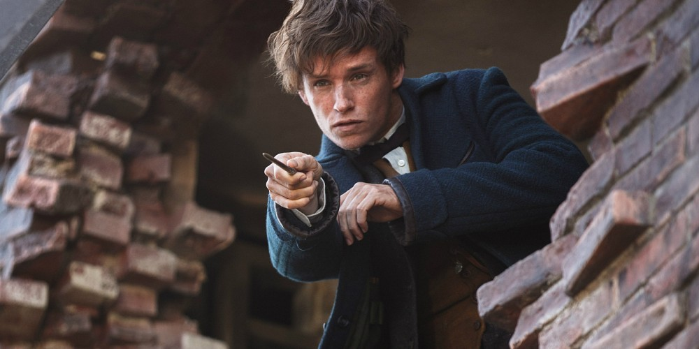 Eddie Redmayne kills it as Newt.
