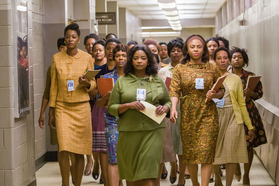 Dorothy Vaughn leads her ladies to the computer room.